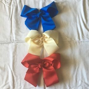 Other - Lot of 3 hair bows